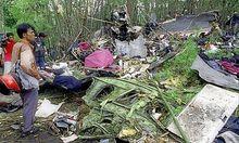 Archivbild Lauda Air Crash in Thailand (1991)