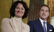 Eva Glawischnig und Heinz-Christian Strache