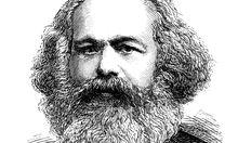 Illustration von Karl Marx