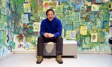 """""""Alles, was wir entwerfen, kommt aus unserer Familie"""", sagt der japanische Architekt Takaharu Tezuka – hier im Atelier des Zoom-Kindermuseums."""