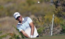 Golf Wiesberger China verbessert