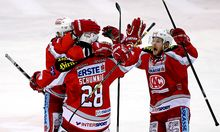 EISHOCKEY - EBEL, Capitals vs KAC