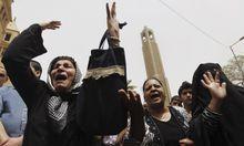 Angriff auf Trauerzug der Kopten in Kairo.