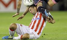 Roter-Stern-Belgrad-Spieler Milan Jovanovic