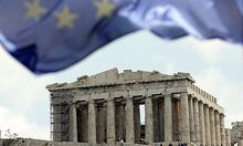 Finanzminister beraten �ber Euro-Krise