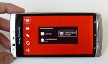 Sony Ericsson Krux Druckknopf