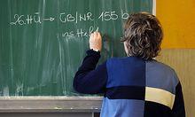 Schule, Unterricht, Schüler, Ausbildung, Lernen, LehrerFoto: Clemens Fabry