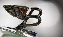 Luxusautos Bentleys Hauch Traenengas