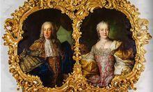 Kaiser Franz Stephan und Maria Theresia. Um 1750, Martin v. Meytens d. J. zugeschrieben.