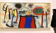 Dieses Bild von Miro hängt ohnehin im spanischen Guggenheim.
