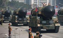 Pjöngjang demonstriert seine Militärmacht.