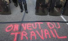 Rekord bei Arbeitslosigkeit in Frankreich
