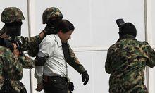 Archivbild: Guzman nach seiner Festnahme 2014