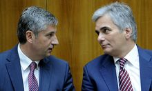NATIONALRAT: FAYMANN, SPINDELEGGER