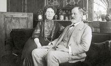 Sigmund Freud und Martha Freud