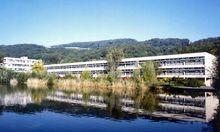 Der Campus der Uni Linz