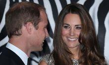 William und Kate erstmals als Papa und Mama aus