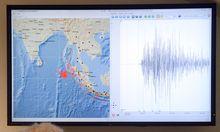 Nach schweren Beben TsunamiWarnung