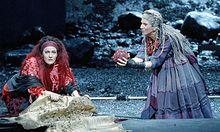 Medea: Marlis Petersen und Elisabeth Kulman