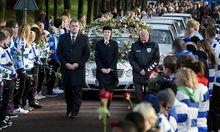 Das Begraebnis von Nieuwenhuizen