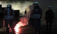 Proteste in Athen am vergangenen Mittwoch.