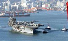 SOUTH KOREA - US CARRIER USS KITTY HAWK