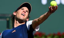 Dominic Thiem in Indian Wells.