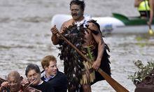 Prinz Harry stattete dem Fluss Whanganui 2015 einen Besuch ab.