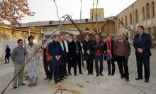 Iran-Kooperation: Die österreichische Delegation mit den Gastgebern in Teheran.