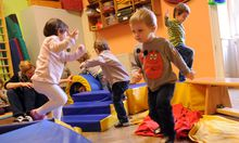 KindergartenDemo gegen unzumutbare Bedingungen