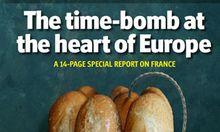 ZeitbombenCover Economist veraergert Paris