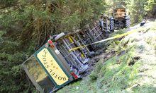 In Tirol ist ein Bummelzug umgekippt. Es gibt 21 Verletzte.