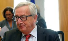 EU Commission President Juncker chairs a meeting of the EU executive body in Brussels