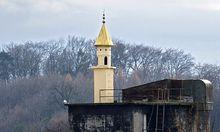 Schweizer errichtet Minarett am Firmendach