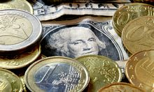14MonatsHoch Euro klettert Dollar