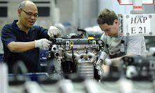 Archivbild: Im Wiener Opel-Werk, das nun laut Medienberichten wieder General Motors gehört.