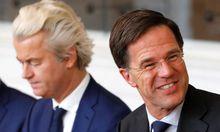 Niederlage für Geert Wilders (links).