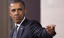 Barack Obama verliert durch die schlechte Wirtschaftslage an Beliebtheit.