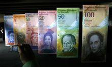 Venezuela wertet Landeswaehrung Prozent