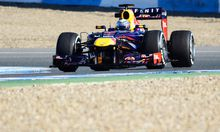 Sebastian Vettel im RB9