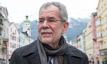 UNTERSCHRIFTENSAMMELAKTION VON GR�NEN-PR�SIDENTSCHAFTSKANDIDAT VAN DER BELLEN