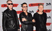 Andrew Fletcher, Dave Gahan und Martin Gore sind Depeche Mode.