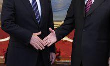 Handschlag zur Versöhnung (Symbolfoto)