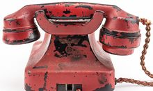 US-HISTORY-AUCTION-GERMANY-HITLER-PHONE