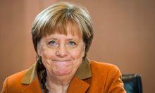 Angela Merkel kann auf volle Kassen zurückgreifen