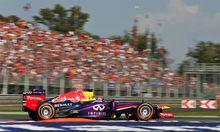 Formel Vettel Monza Pole
