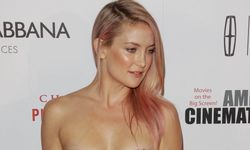 Los Angeles USA Kate Hudson at the 28th American Cinematheque Award Honoring Matthew McConaughey hel