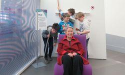 Margit Fischer im Ringturm – die Enkel experimentieren gerade anderswo. / Bild: (c) Wiener Städtische/Schrammel