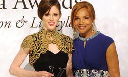 Coco Rocha und Valerie Campbell bei den Vienna Awards / Bild: (c) APA/HERBERT PFARRHOFER (HERBERT PFARRHOFER)