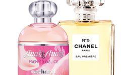 """Im neuen Flakon gibt es """"N° 5 Eau Première"""" von Chanel (50ml um 91 Euro), ganz neu ist """"Anaïs Anaïs Premier Délice"""" von Cacharel (50ml um 58 Euro). / Bild: (c) Beigestellt"""